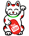 Subscribe for lucky cat videos!